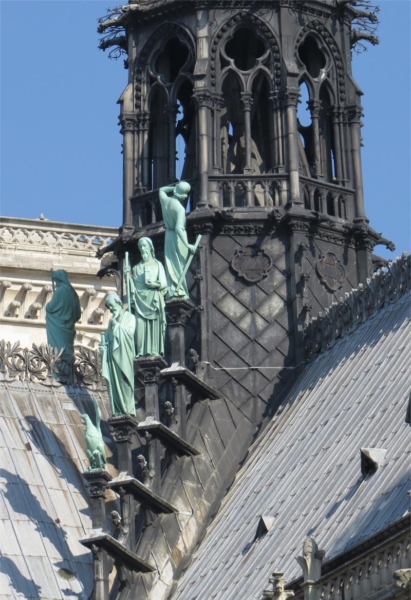 la fleche de notre dame de paris histoire