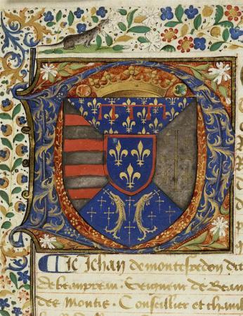 Les aveux au Roi René. Archives Nationales