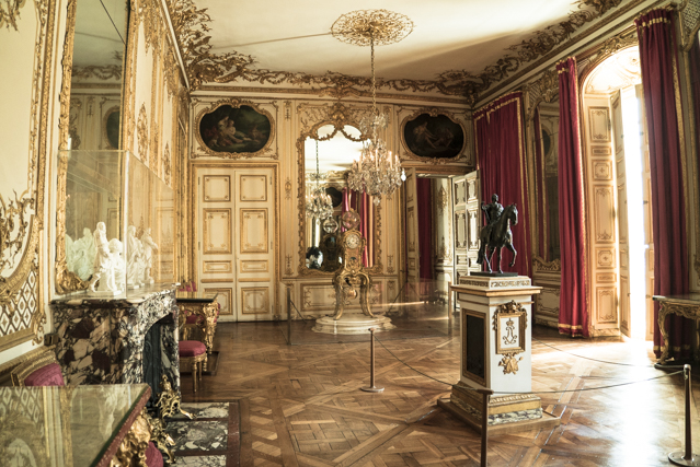 visite versailles appartements priv s des rois passionchateau. Black Bedroom Furniture Sets. Home Design Ideas