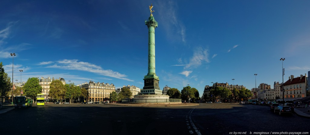 Colonne de Juillet / Bastille Par : photo-paysage.com