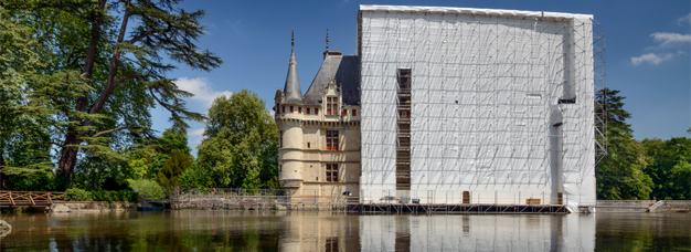 Restauration du château d'Azay le Rideau