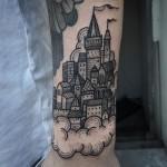 Des tatouages chateau !