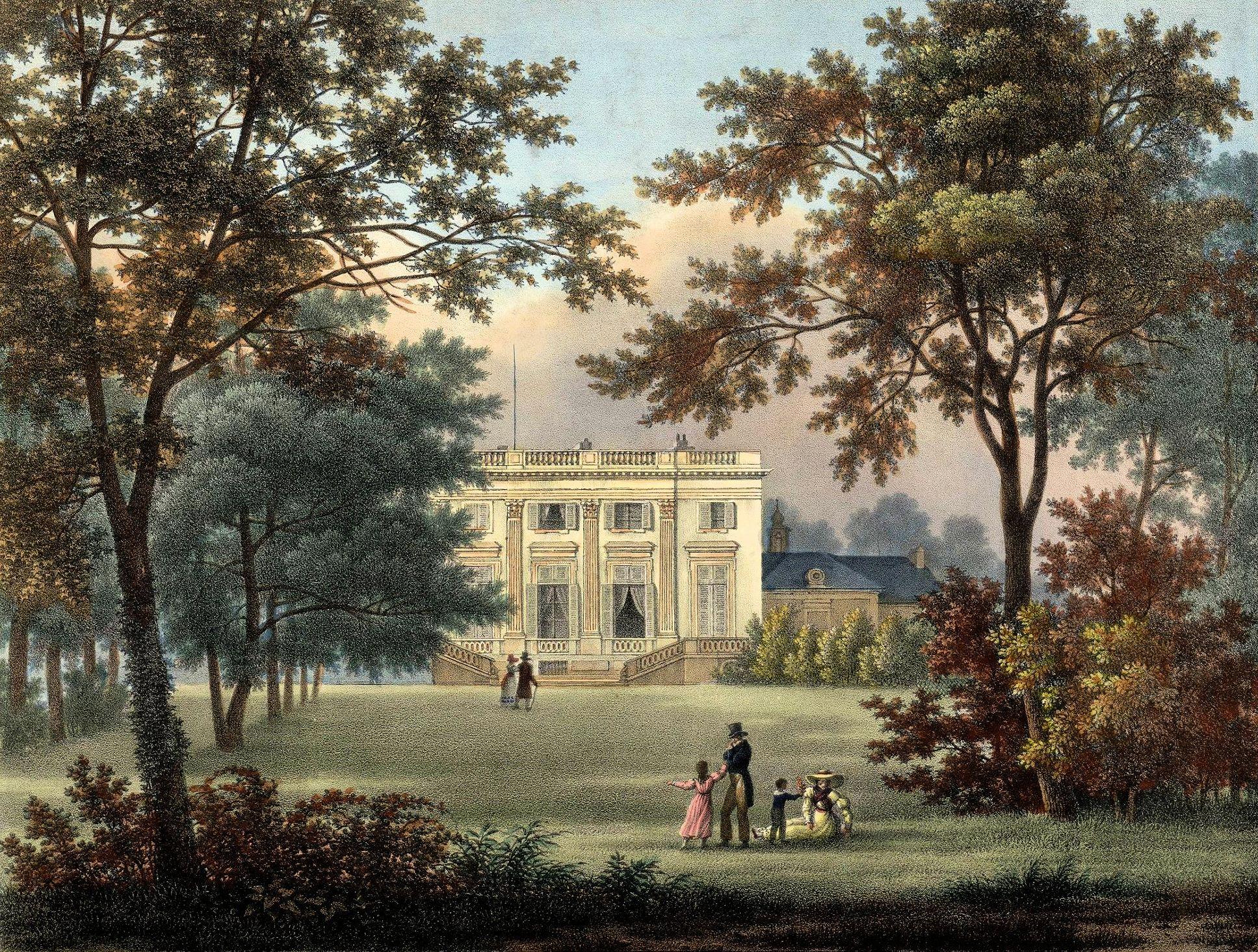 Les fant mes du trianon passionchateau for Jardin anglais du petit trianon