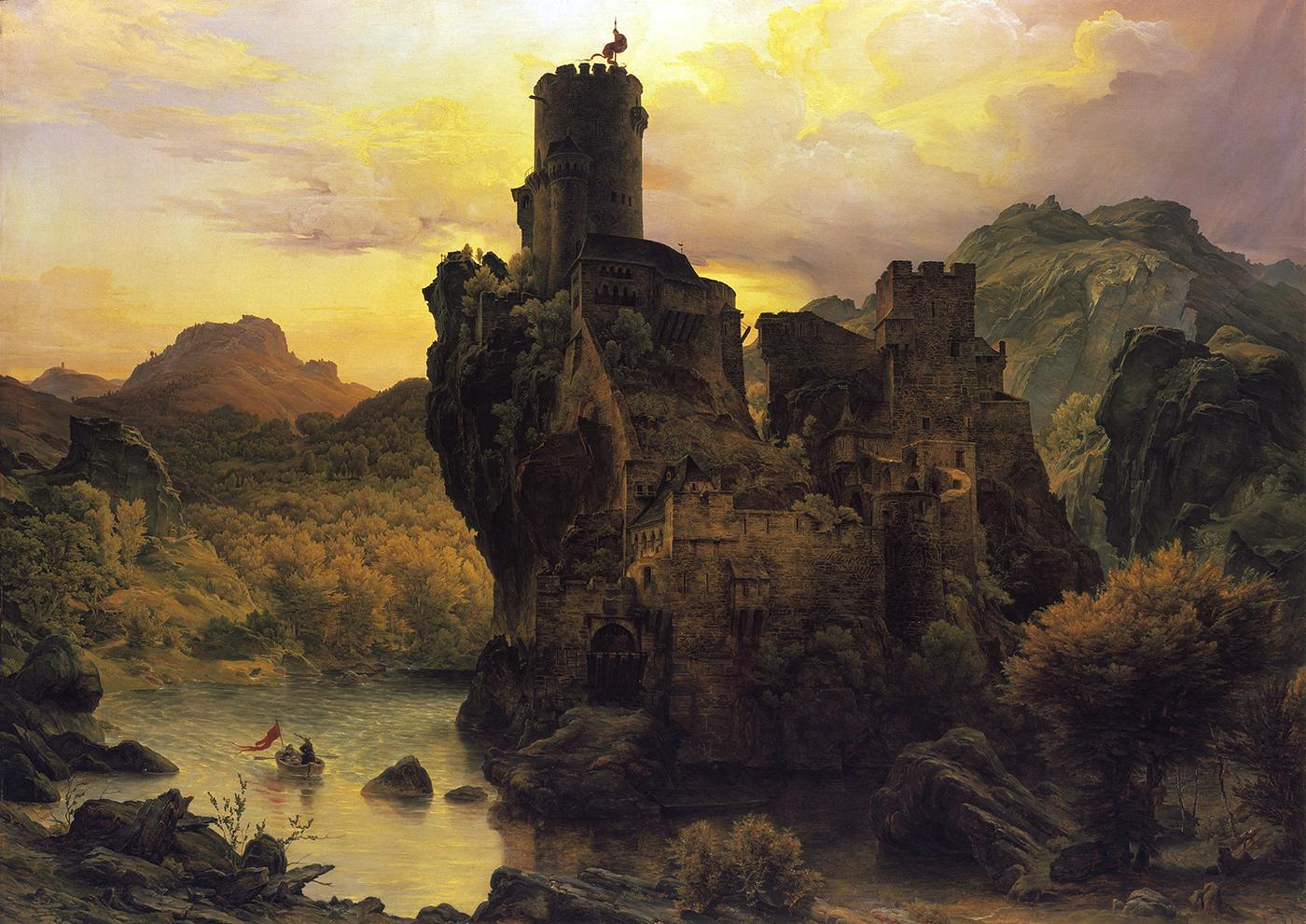 Carl friedrich lessing passionchateau for Auteur romantique