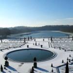 A Versailles. Il ne fait pas chaud